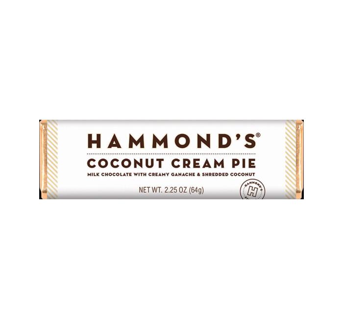 Hammond's Milk Chocolate Coconut Cream Pie Bar