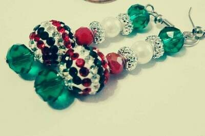 SHiNY ChRisTmAS Earrings