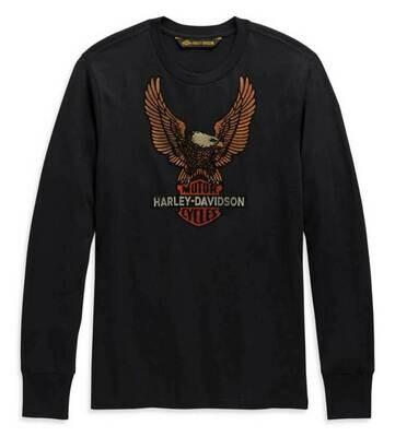 Harley-Davidson® Men's Vintage Eagle Long Sleeve Shirt