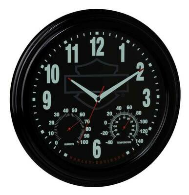 Harley-Davidson® Outdoor Clock / Thermometer