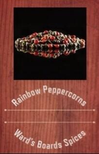 Rainbow Peppercorns