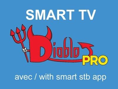 Diablo pro iptv Smart tv