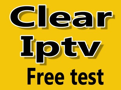 Clear iptv HD 48h essai gratuit / free test (Sous-titrage, closed caption)