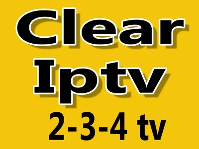 Clear iptv HD  2tv-3tv-4tv combo (Sous-titrage, closed caption)