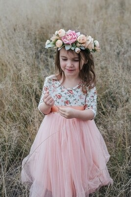 Willow Dress | Peach