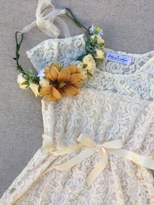 Fern Flower Crown