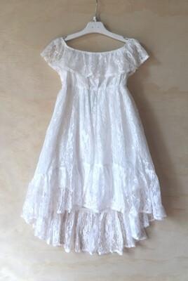 AUBRIE Boho Flower Girls Dress