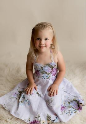 Briar Purple Floral Dress