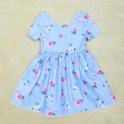 HARRIET DRESS | Powder Blue