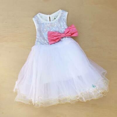 Harmony Dress   White