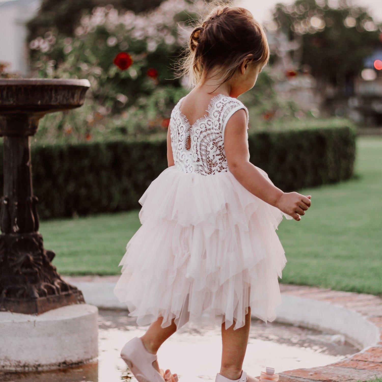 Aurora Grace Dress   Peach