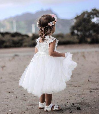 Layla Tutu Dress | White
