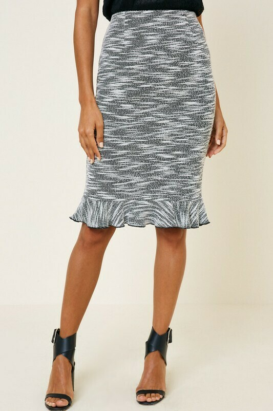 Ruffle Pencil Skirt L & M only left!!