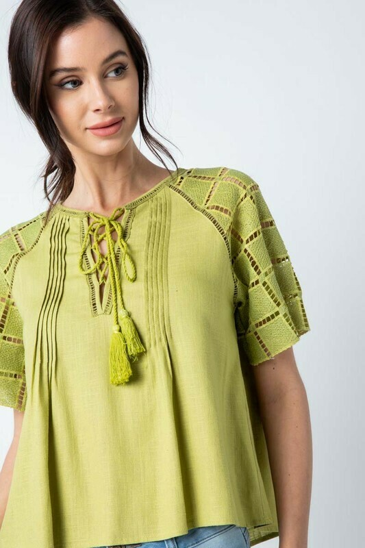 Short Sleeve Top M & S only left!!