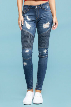 Judy Blue Destroy Moto Jeans Sizes 13 - 22W Left!