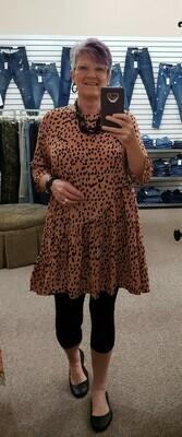Asymmetrical Swing Dress 3X to S!!