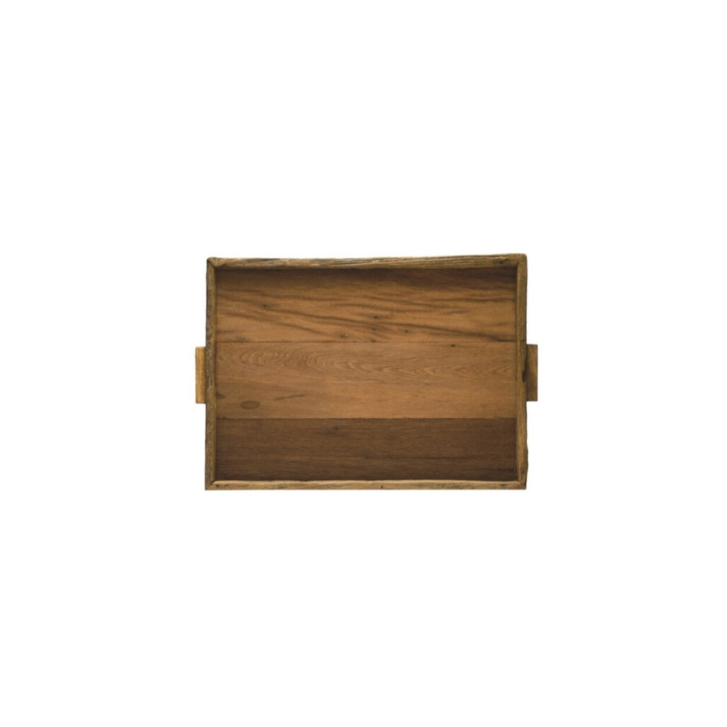 Reclaimed Teak Tray -Large