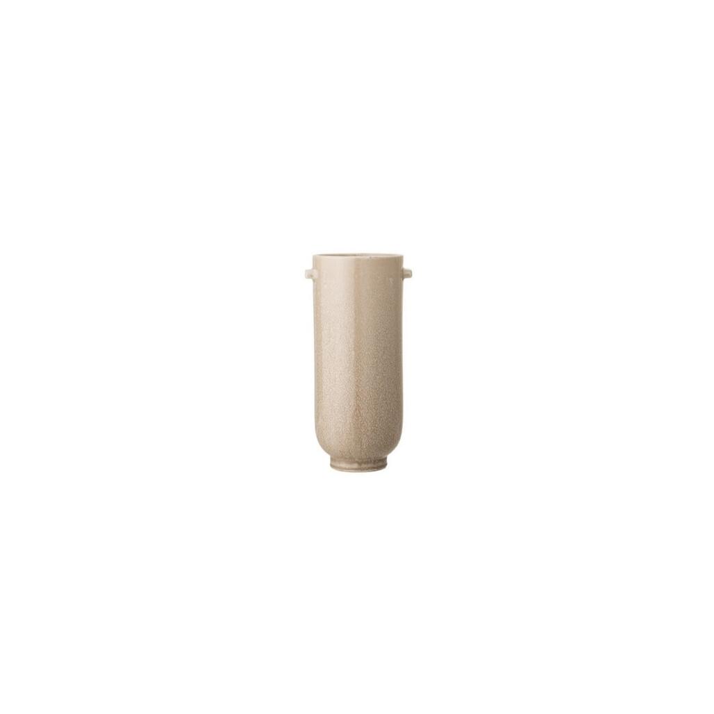 Glazed Stoneware Vase - Natural