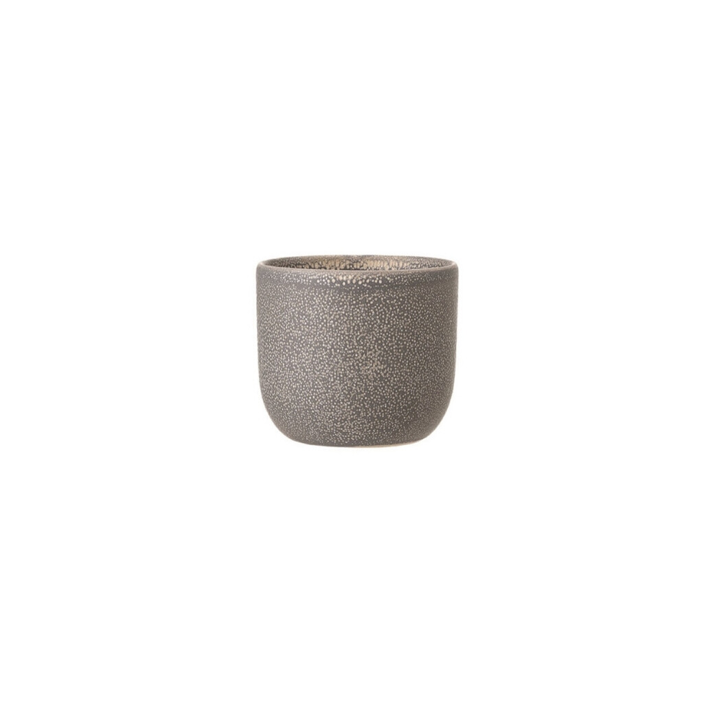 Stoneware Planter - Grey