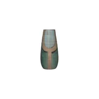 Y Blue & Turquoise Vase