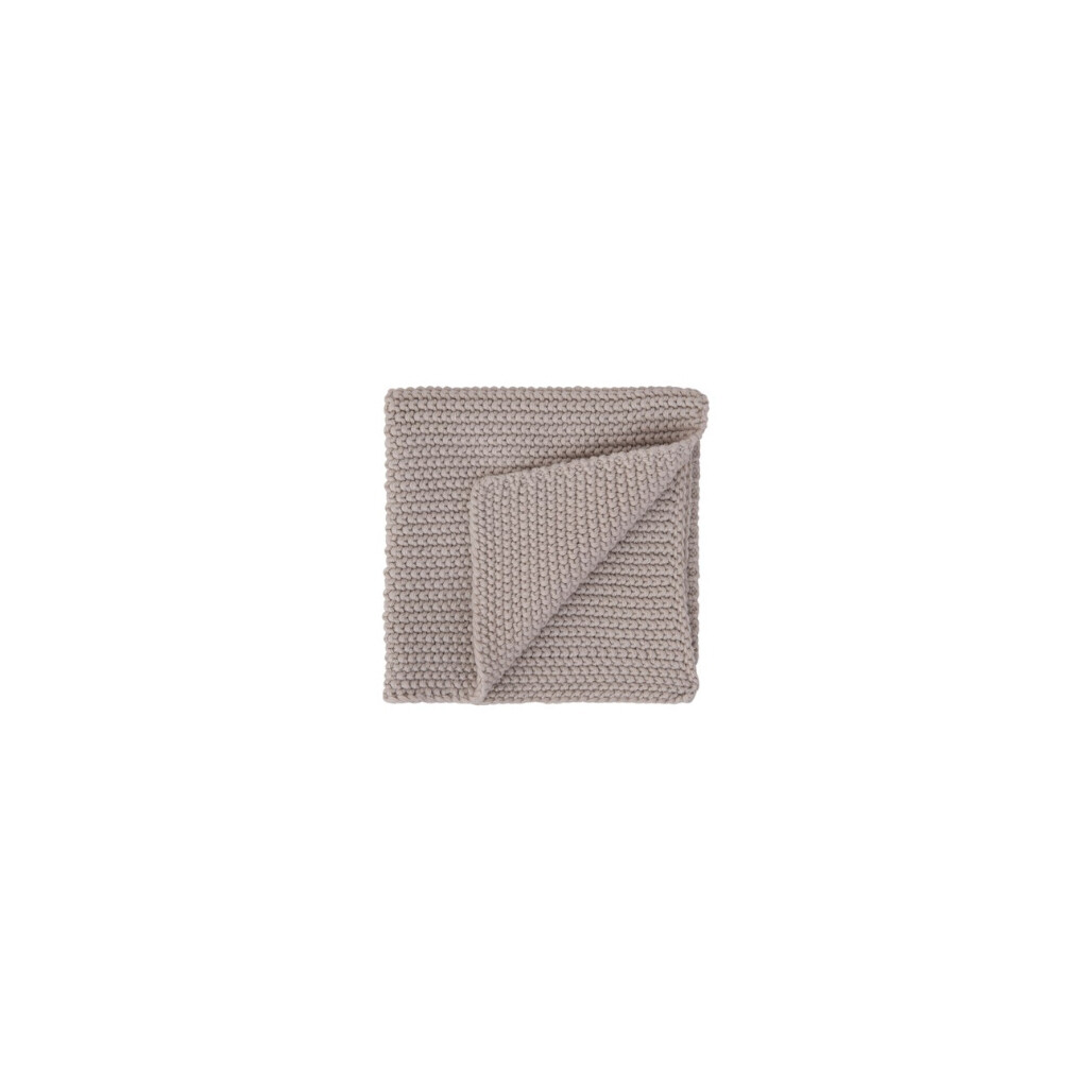 Square Cotton Knit Dish Cloths - Set of 2