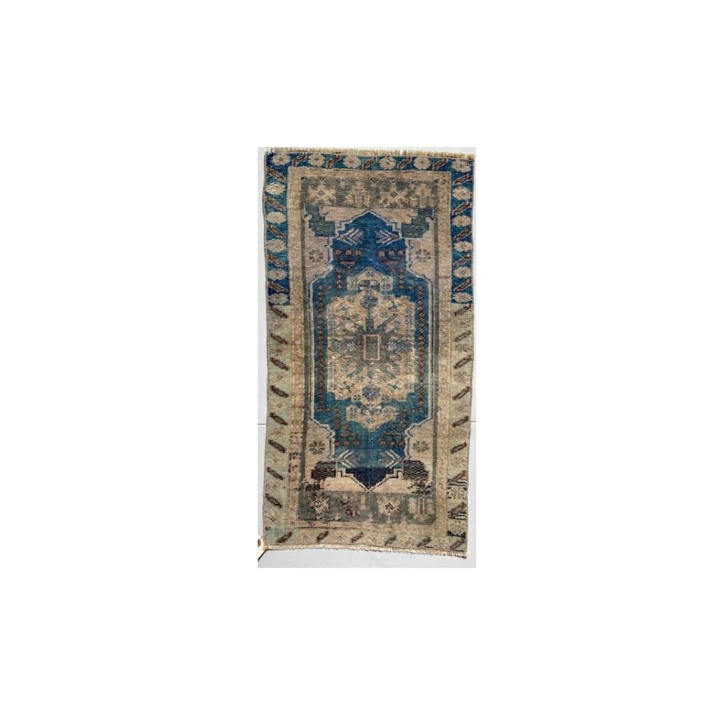 Vintage Prayer Rug- Small