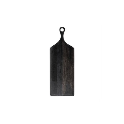 Black Acacia Wood Cutting Board - Long