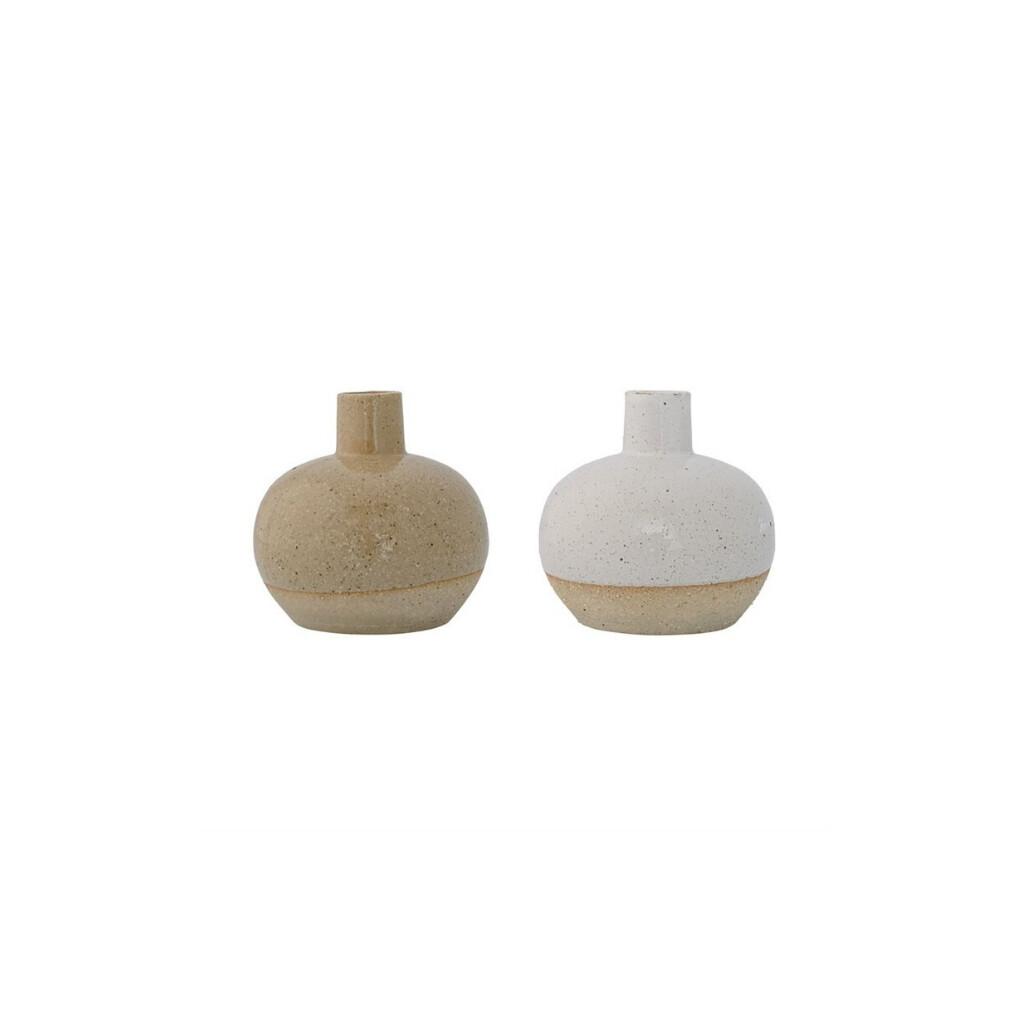 Sand Vase - White