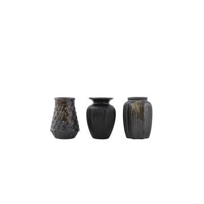 Matte Brown Bud Vase