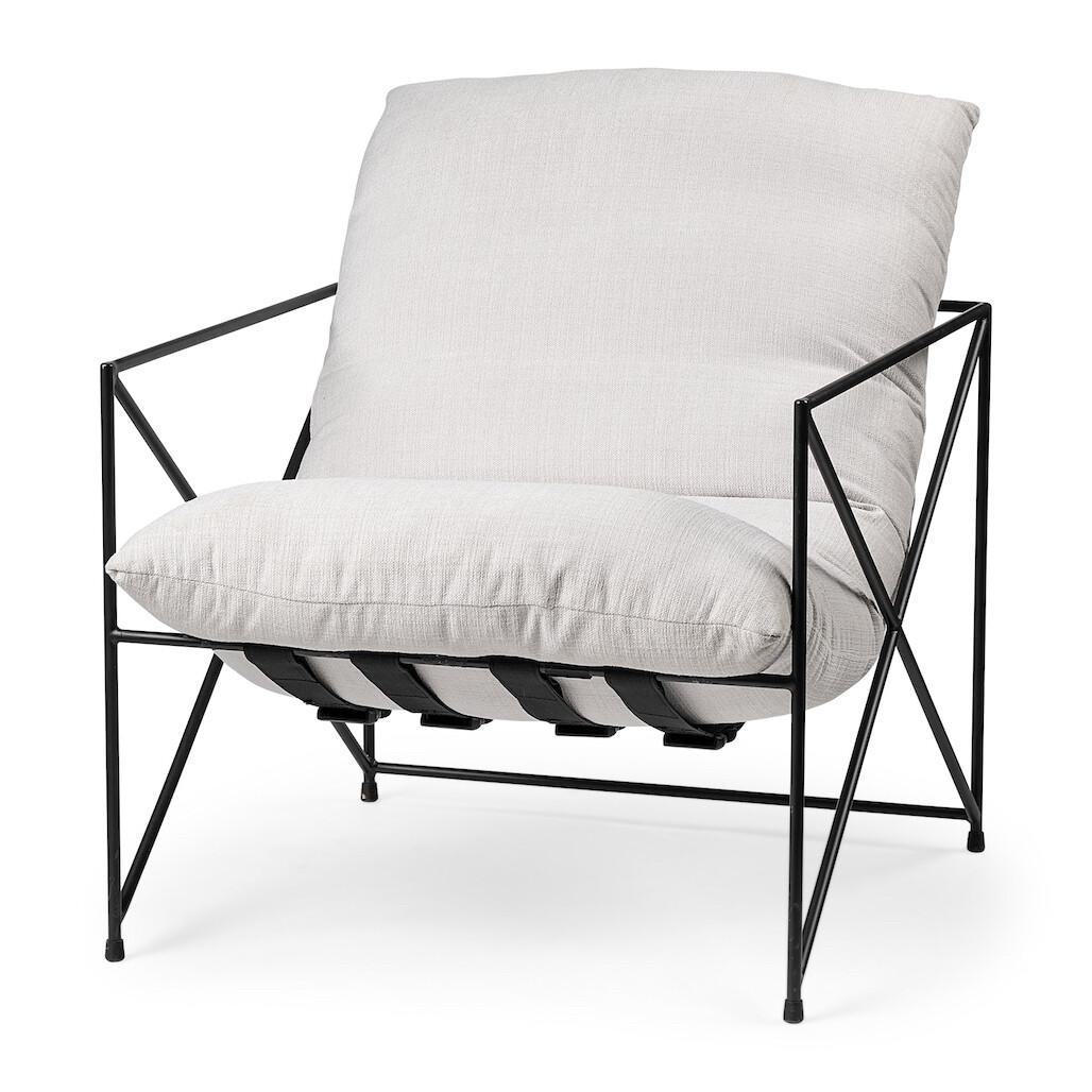 Lily White Iron Lounge