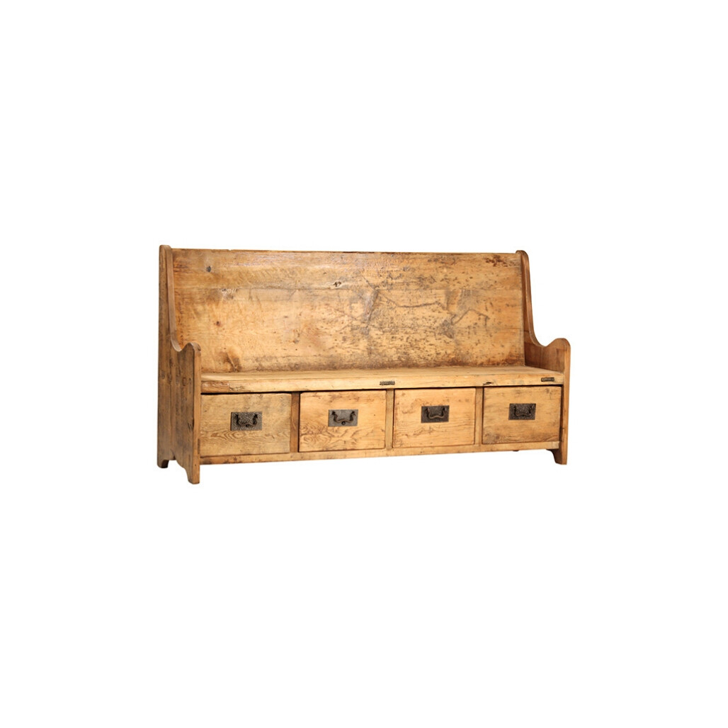 Schaeffer Bench w/ Drawers