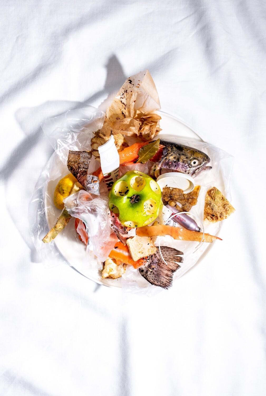 Forelle, Apfel, Sellerie - Food Fotografie (Müll)