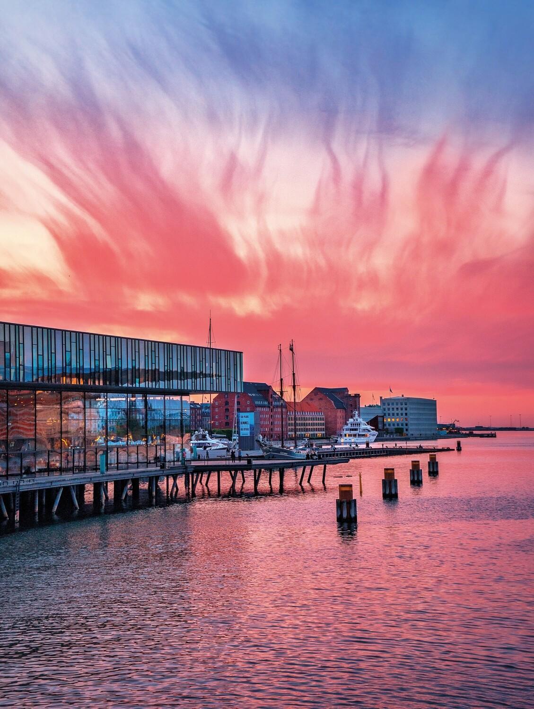 Royal Danish Playhouse on fire
