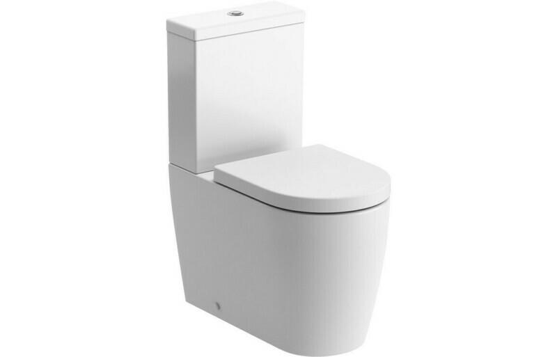 Cilantro C/C WC & Soft Close Seat