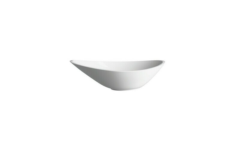 Elemi 564x323mm 0TH Resin Washbowl - White
