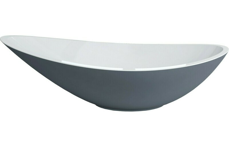 Elemi 564x323mm 0TH Resin Washbowl - Grey