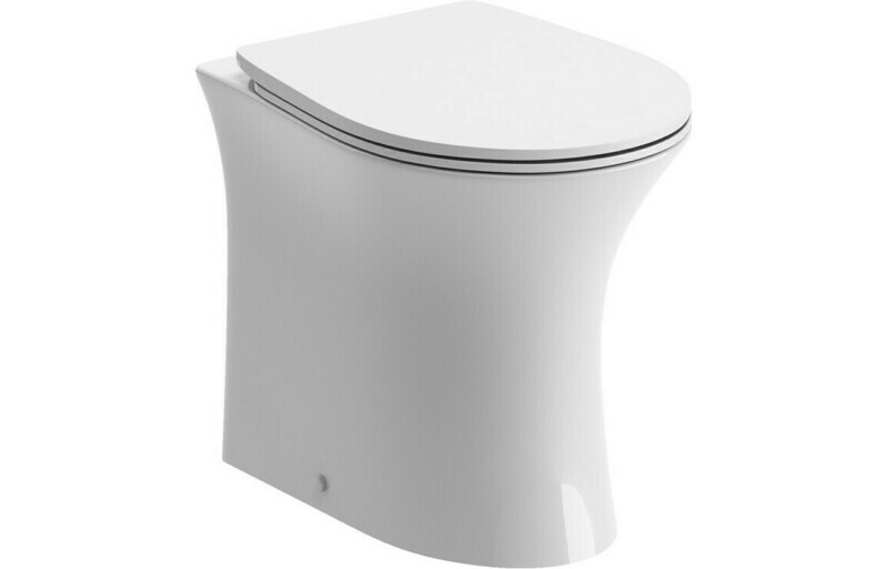 Sandro Rimless BTW WC & Soft Close Seat