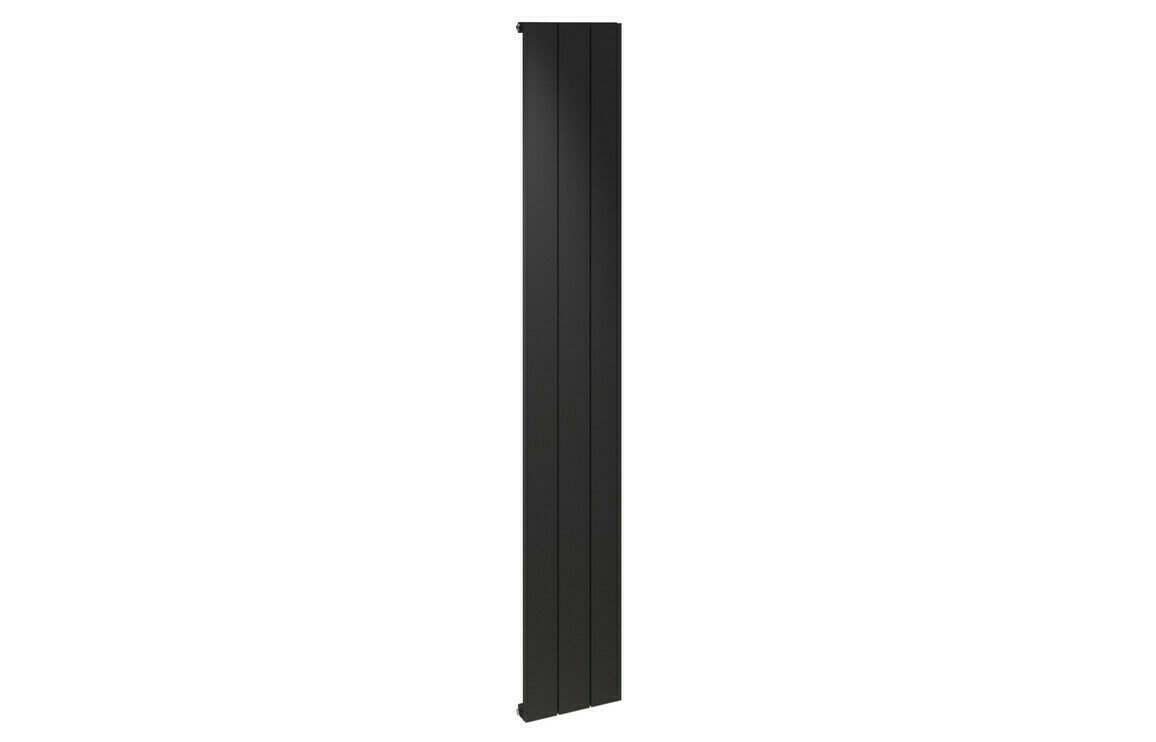 ALULITE 1800X280MM FLAT RADIATOR - BLACK