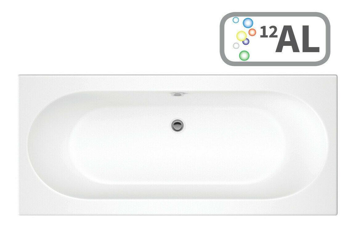 Cascade SUPERCAST Double End 1700x750 0TH Bath & Airspa System