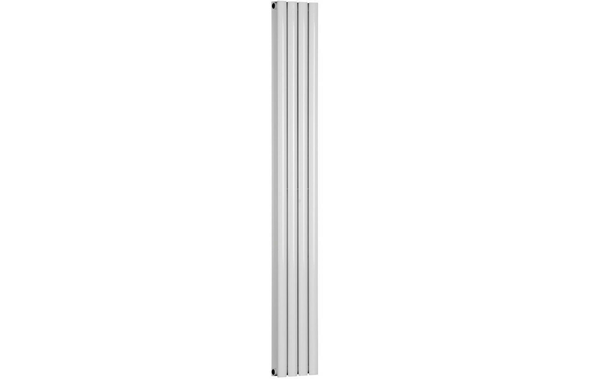 Cylindra 1800x236mm Designer Radiator - White