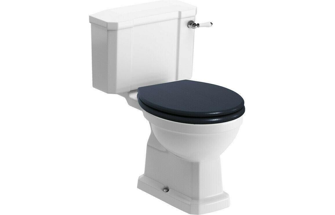 Sherbourne C/C WC & Benita Indigo Ash Soft Close Seat