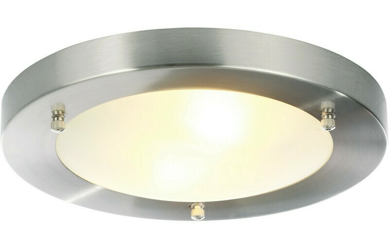 Large Flat Ceiling Light