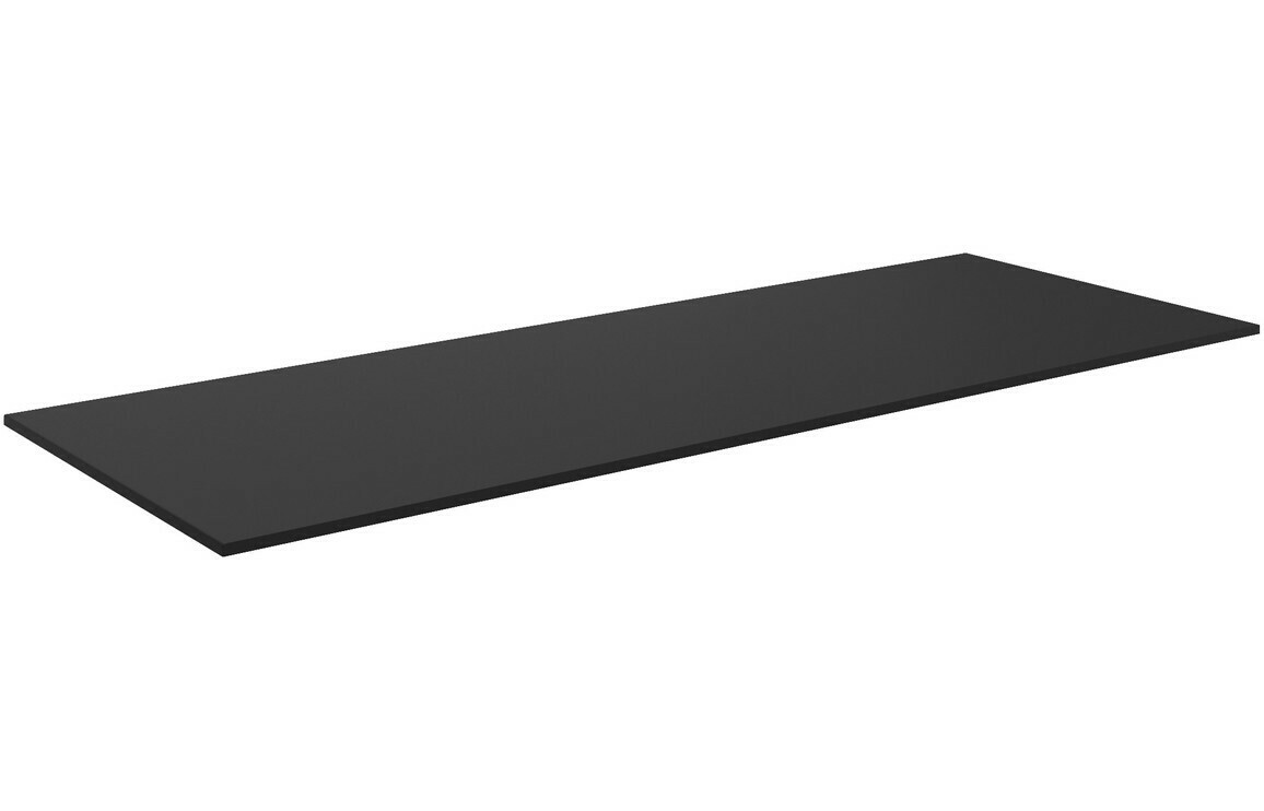 Morina 1210x460x10mm HPL Worktop - Urban Black