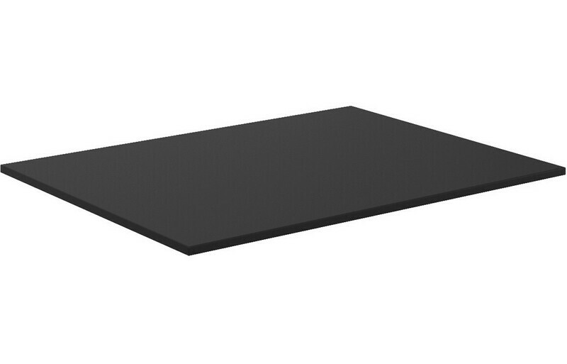 Morina 610x460x10mm HPL Worktop - Urban Black