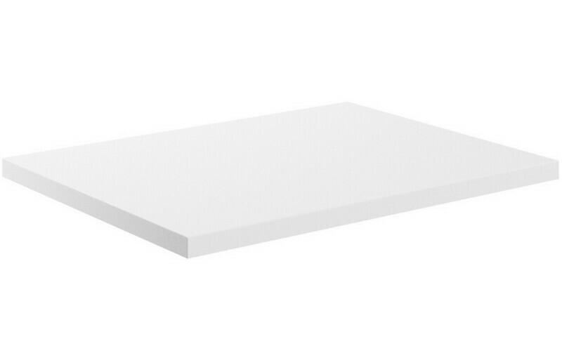 Morina 600x460x25mm Laminate Worktop - White Gloss