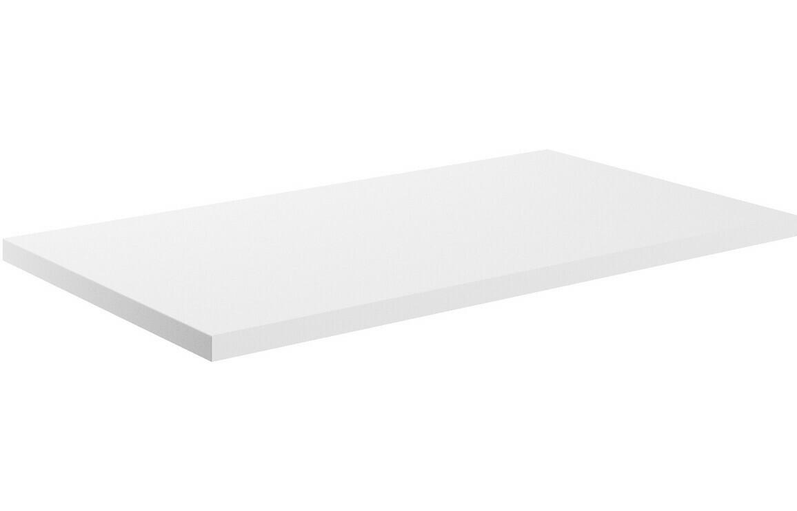 Morina 800x460x25mm Laminate Worktop - White Gloss