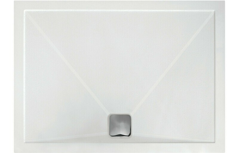 RefleXion 25mm Anti-Slip Ultra-Slim 1000x800mm Rectangle Tray
