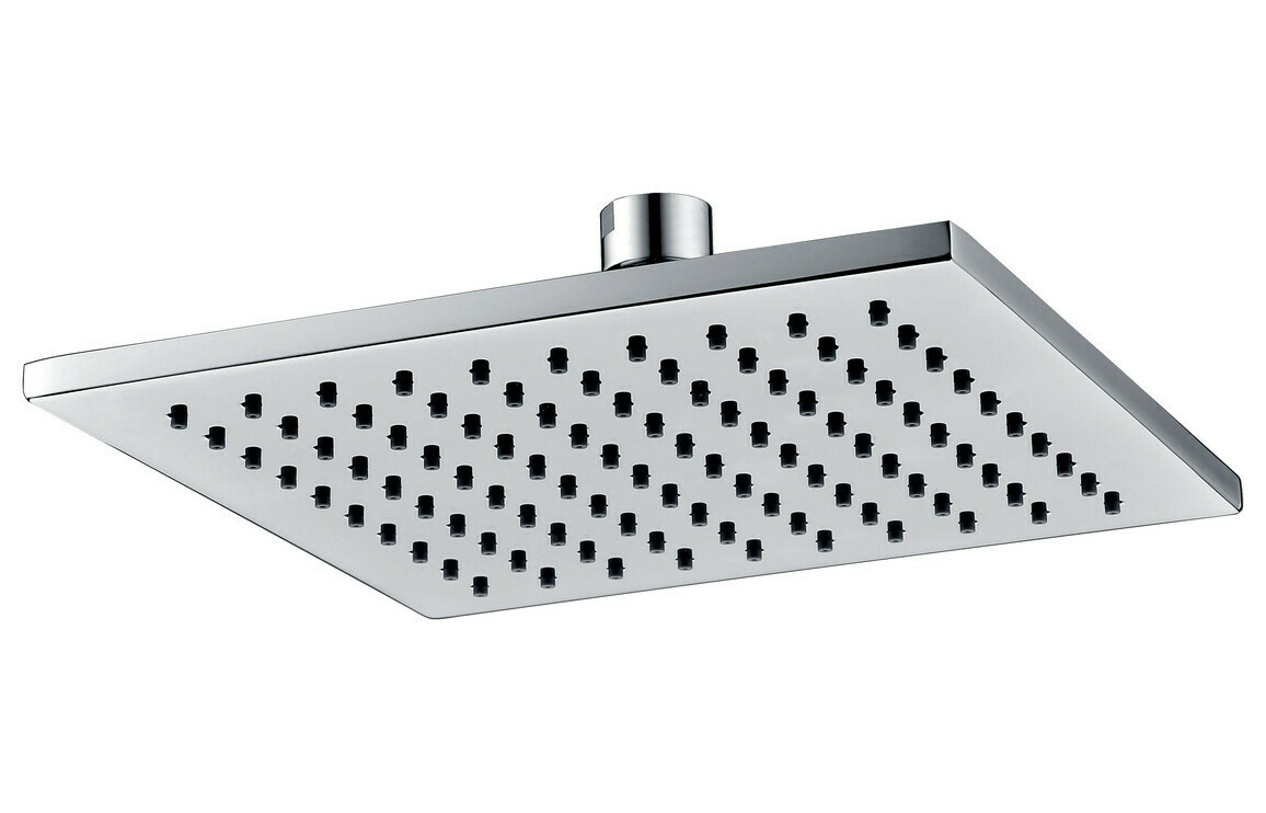 250mm Square Showerhead - Chrome