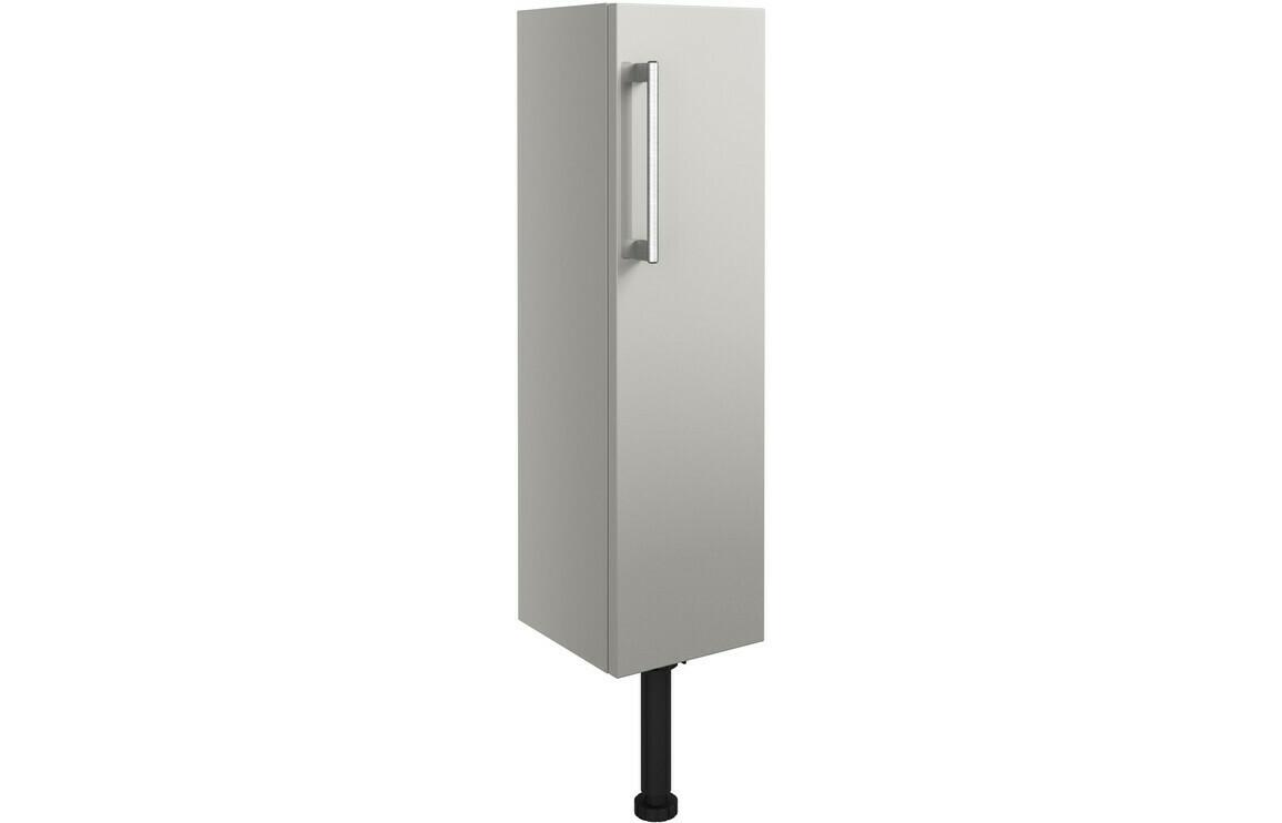 Alba 200mm Slim Base Unit - Light Grey Gloss