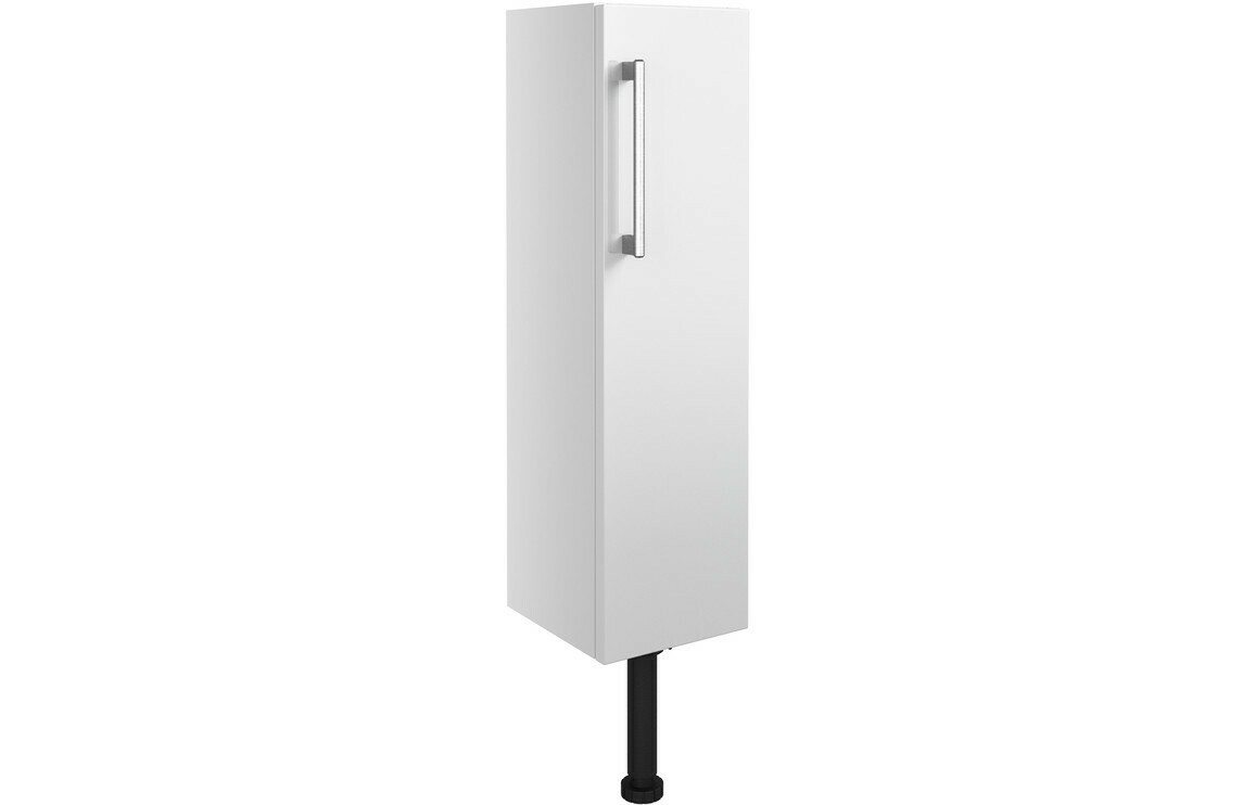 Alba 200mm Slim Base Unit - White Gloss